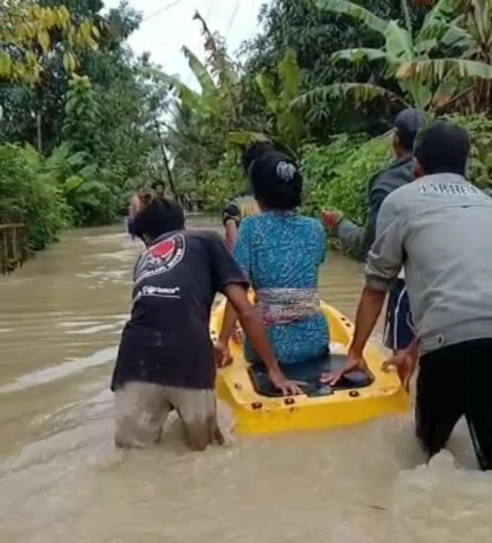 Banjir di Pandeglang.