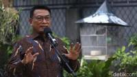 Pendiri PD Klaim Moeldoko Sudah Tiba di Lokasi KLB