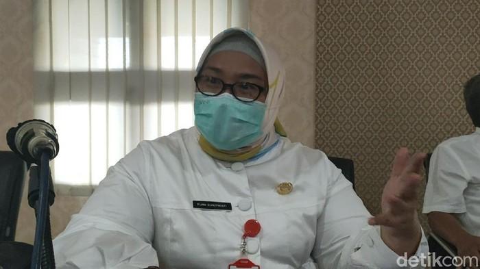Bupati Sragen, Kusdinar Untung Yuni Sukowati, Rabu (3/2/2021).