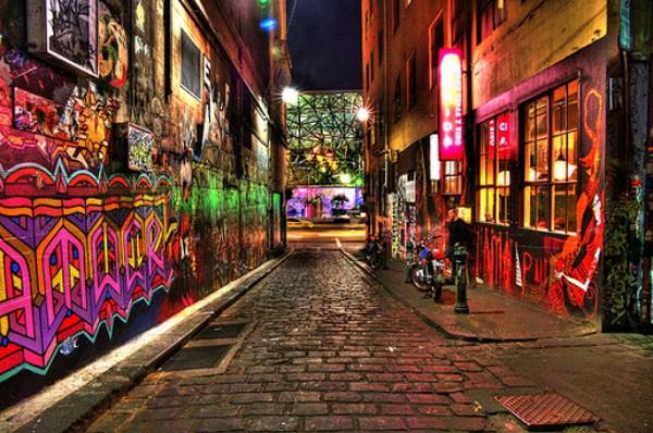 5 kota dengan graffiti terbaik di dunia