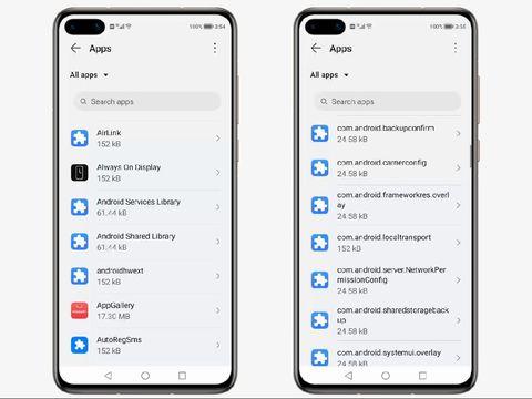 HarmonyOS mirip seperti Android 10