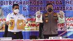 Kapolda Metro dan Wagub DKI Musnahkan Barbuk Narkoba