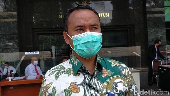 Ketua KPU Pangandaran Muhtadin