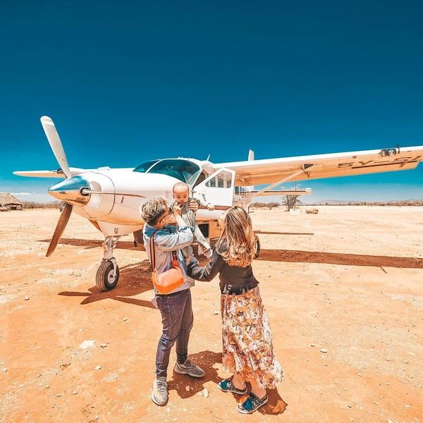 Identik dengan liburan mewah, Rachel dan Niko kerap memposting kebahagiaan mereka. (Instagram/Rachel Vennya)