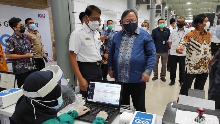 Menristek/Kepala BRIN, Bambang Brodjonegoro (Azhar/detikcom)