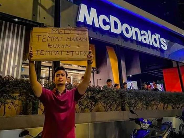 Pro Kontra Netizen Soal 'McD Tempat Makan, Bukan Tempat Belajar'