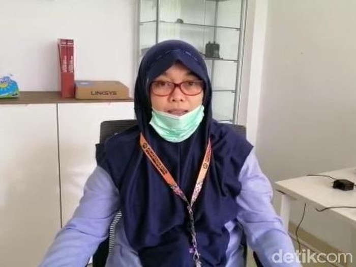 Subkoordinator Mitigasi Gunung Api Wilayah Barat PVMBG Nia Haerani