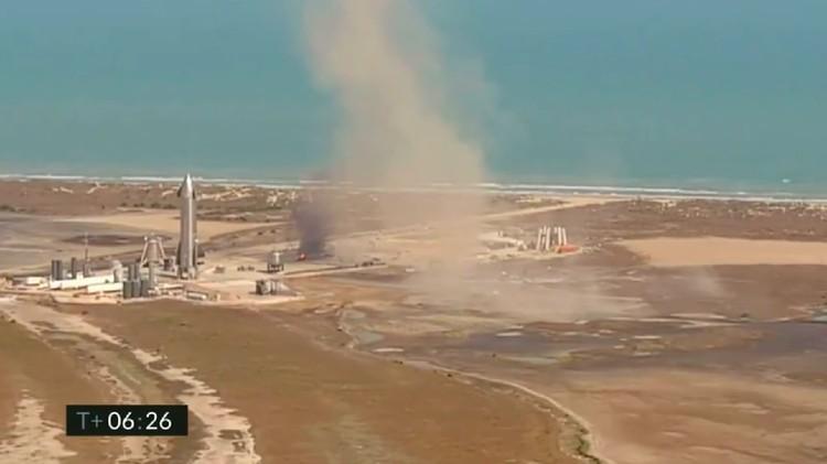 SpaceX Starship SN9 Meledak di Boca Chica, Texas, AS