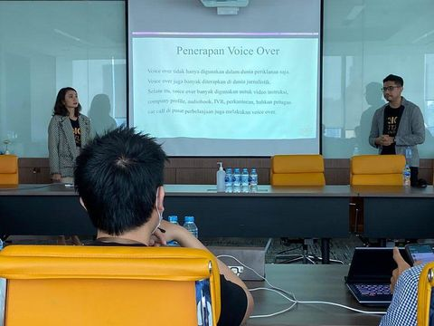 Kegiatan pelatihan Voice Institute Indonesia