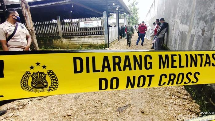 Satu keluarga di Desa Turusgede Kecamatan Kota Rembang, Rembang, Jateng, ditemukan tewas, Kamis (5/2/2021). Diduga mereka tewas dibunuh.