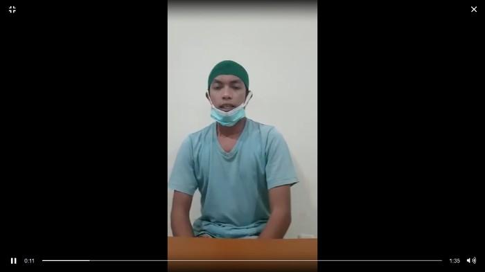 Ahmad Aulia (30), terduga teroris yang juga simpatisan FPI mengaku berbaiat ke ISIS.
