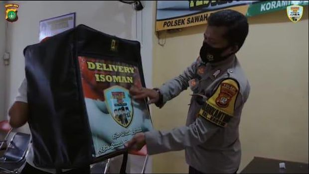 Cara Polisi di Jakpus Cegah COVID: Mobile Testing-'Delivery' Isoman