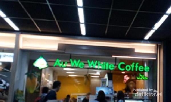 Gerai makanan halal di Bandara Don Mueang