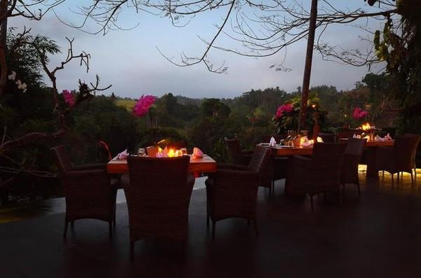 Panorama dari Rondji Restaurant