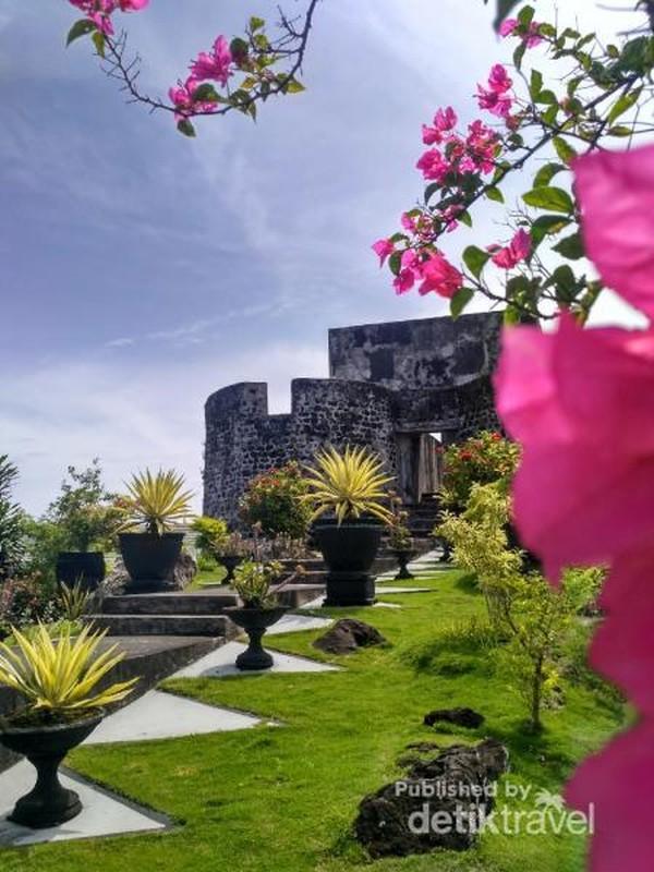 Benteng Tolluko saksi bisu kejayaan Ternate dahulu