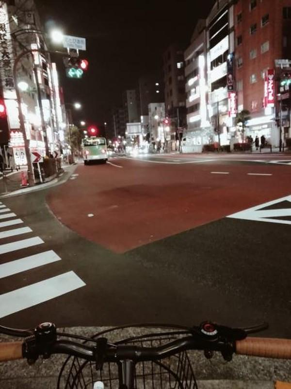 Bersepeda ke pinggiran kota Tokyo bisa juga menjadi pilihan, agar kita bisa tahu ternyata Tokyo yang ramai akan turis mempunyai tempat yang Damai dan sepi saat jam masih menunjukkan pukul 7 malam.