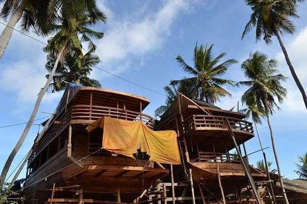 Bingkai Makna Dan Tradisi Dalam Kerajinan Perahu Pinisi