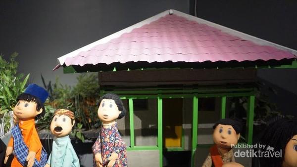 Bentuk studio Unyil, acara anak akhir pekan yang sangat digemari