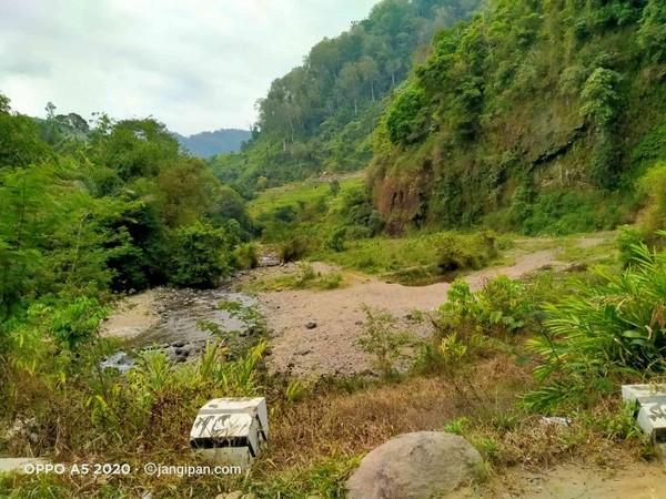 Kawasan situ atau Danau Cirompang.