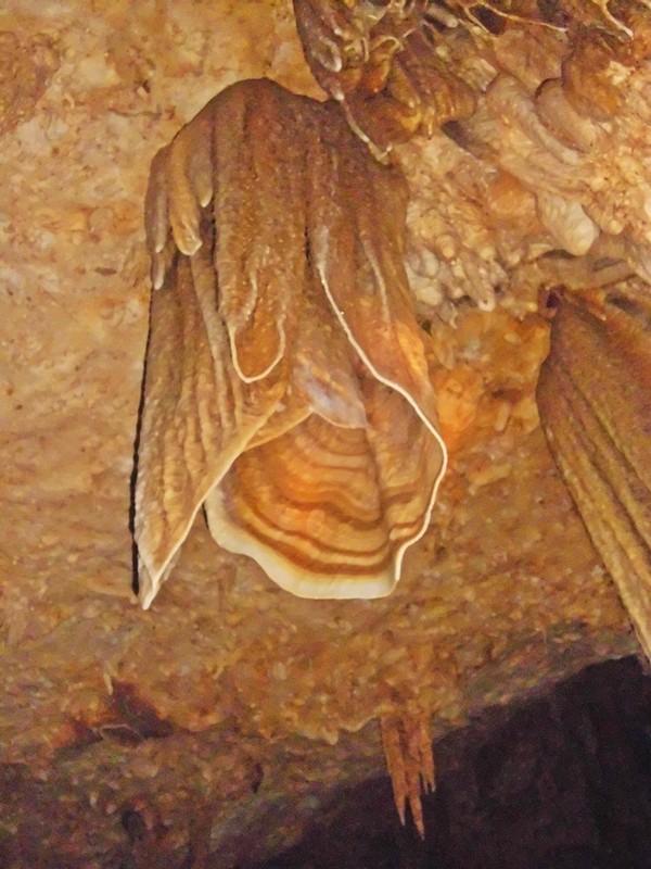 stalaktit terbaik (menurut pemandu kami) dan masih bertumbuh