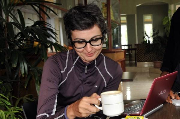 Maja Sontag, Wisatawan Polandia yang suka kopi gayo