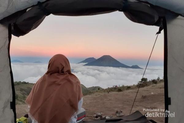 Panorama Keindahan Gunung Prau