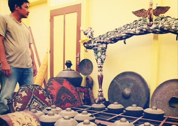 Gending Logender, harta dari Majapahit (Ari/detikFoto)