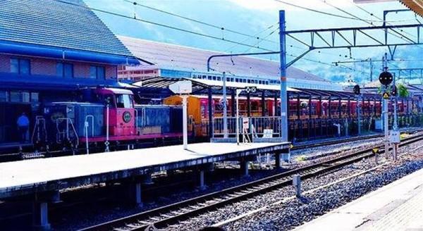 Stasiun romantic train Sagano