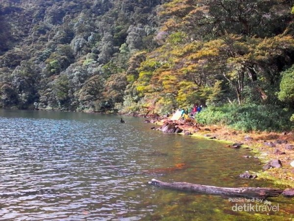 Danau Kumbang yang sangat indah