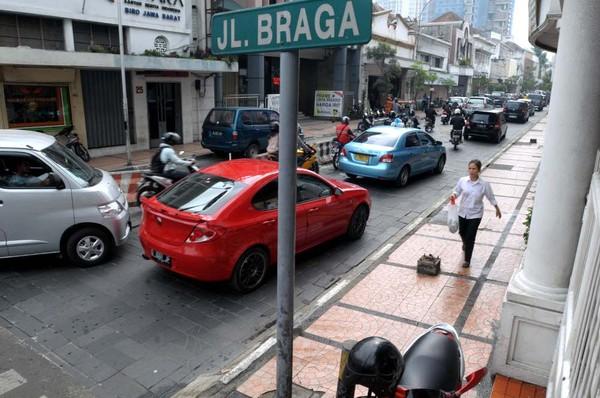 Jalan Braga (Tya Eka Yulianti/ detikBandung)