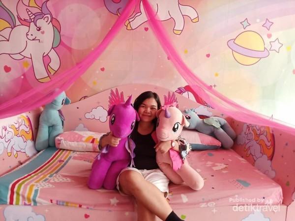 Keranjang Tempat Tidur Unicorn