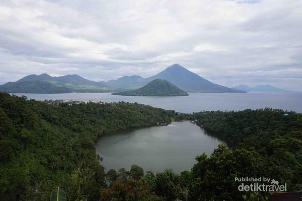Lokasi Danau Ngade atau danau uang seribu