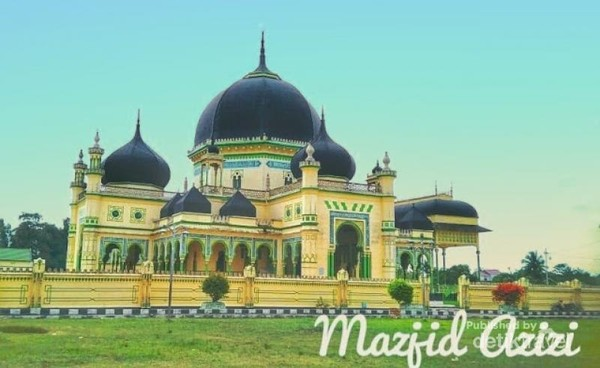 Masjid peninggalan kesultanan Langkat