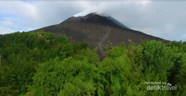 Keindahan krakatau yang harus dilestarikan