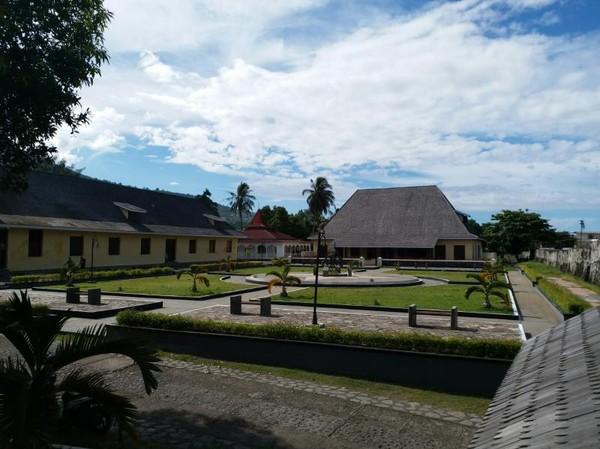 Fort Oranje, benteng favorit wisatawan di pusat kota Ternate