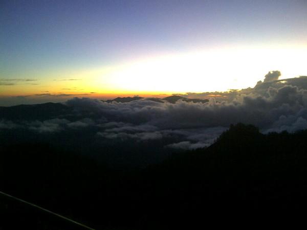 Menjelang matahari terbit (Putri/ detikTravel)