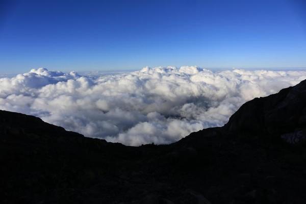 bagaikan begeri di atas awan