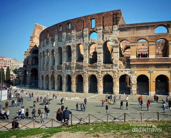 Colloseum, landmark Roma.