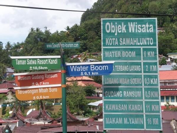 Informasi Objek Wisata - Sawahlunto