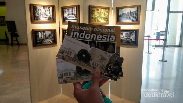Tiket masuk ke Museum Nasional seharga Rp 5.000 untuk dewasa.