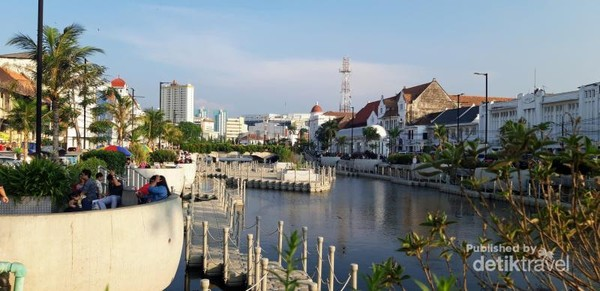 Revitalisasi Kali Besar yang terinspirasi dari sebuah lokasi rekreasi publik modern yang ada di Kota Seoul, Korea Selatan.