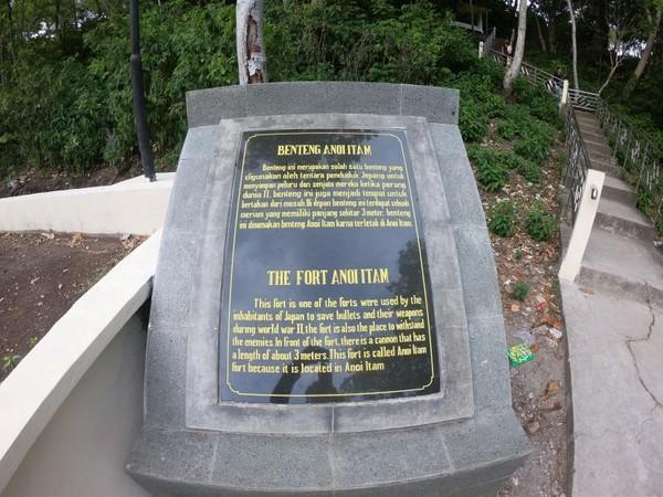 Cagar Budaya Benteng Anoe Itam