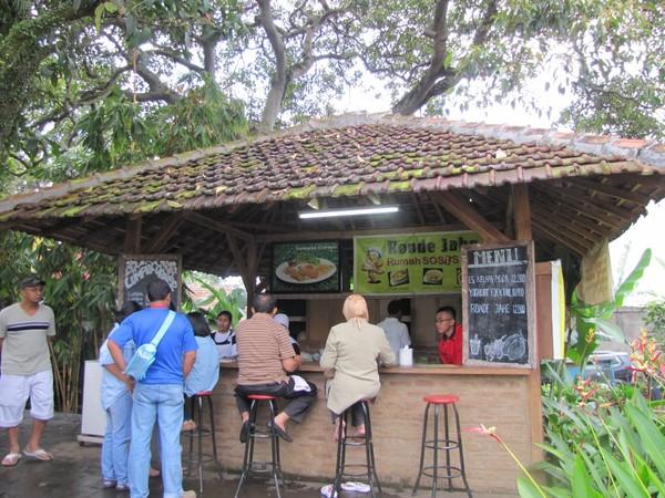 Kedai wedang ronde jahe (Fitraya/detikTravel)