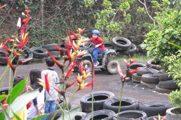 Permainan ATV untuk anak-anak (Fitraya/detikTravel)