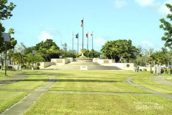 American Memorial Park, tempat untuk mengenang para serdadu Amerika dan penduduk Mariana yang gugur di dalam peristiwa Battle of Saipan
