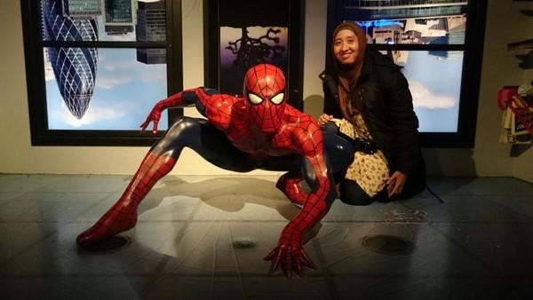 Spiderman juga bisa kita temukan di museum ini