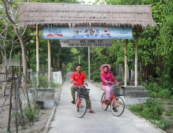 Keliling pulau dengan sepeda