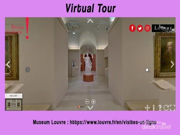Virtual Tour Museum Louvre