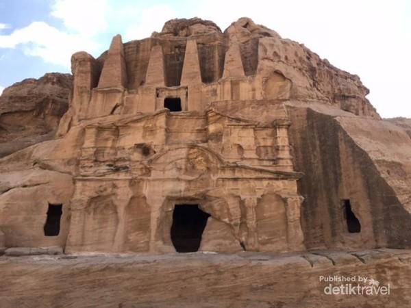 Salah satu sudut kota Petra