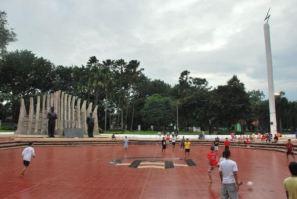 Suasana Taman Proklamasi, saat ini